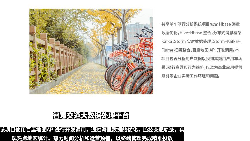 共享单车骑行分析系统